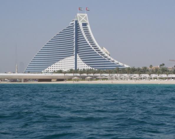 迪拜城市建筑高清素材