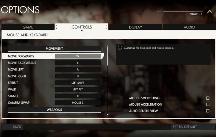 狙击精英4游戏操作键盘