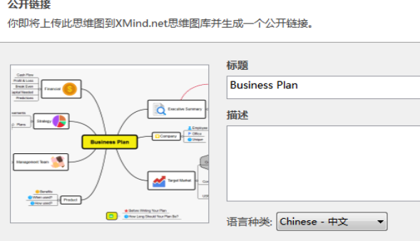 XMind Mac版思维导图共享方法
