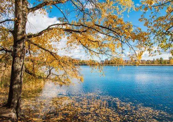 首页 资源下载 平面素材 精美图片 风景 > 原创秋天湛蓝湖水高清图片