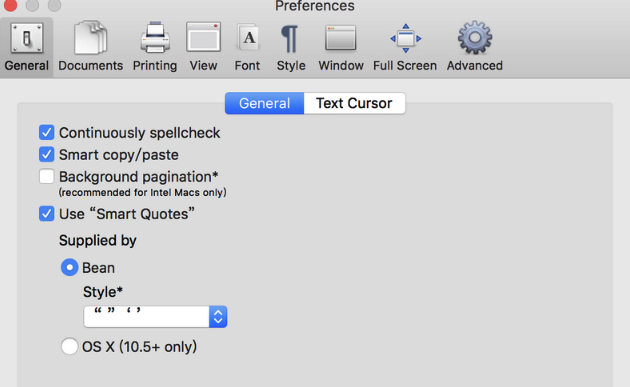 word air mac版 (文本编辑工具) v1.7.2 最新版