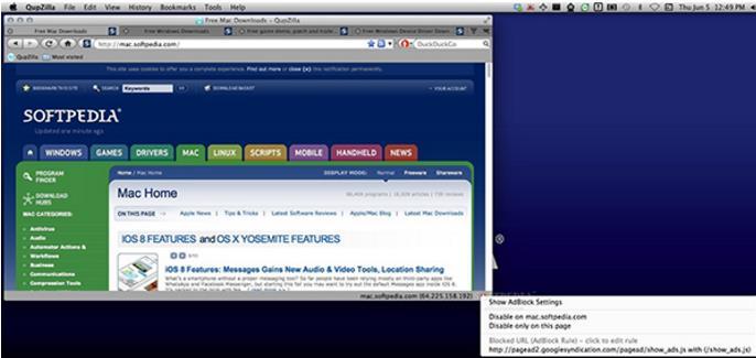 QupZillal浏览器Mac版特色