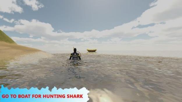 鲨鱼狩猎模拟器最新版(海滩冒险任务) v1.0 安卓手机版