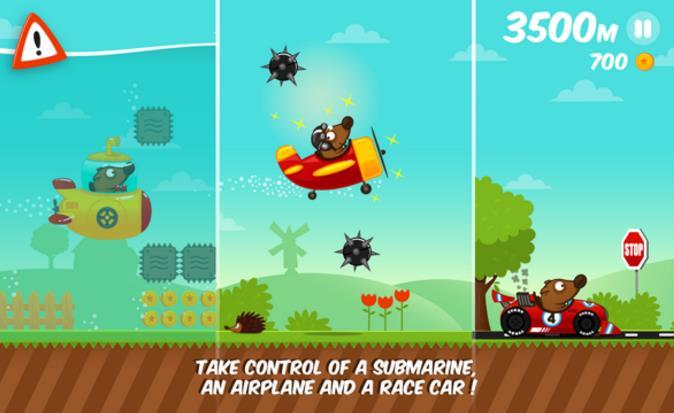 这是非常好玩的卡通跑酷游戏太空狗快跑安卓版。在太空狗快跑安卓版游戏中,我们的主角太空狗因为偷吃了香肠,而被屠夫追赶。,玩家需要做的就是帮助太空狗逃离屠夫的追赶。整个游戏的画面非常的精致,游戏音乐也是非常的轻快,在游戏中玩家可以通过不断收集金币和手机各种腊肠以获得更高的游戏分数。