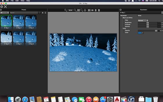 Tiffen Dfx拥有 2000 多个流行获奖的 Tiffen的数字光学滤镜,  Tiffen Dfx 数字滤镜套件是用于世界各地专业摄影师、 顶级电影制片人、 视频编辑者和视觉效果艺术家使用的权威性的。  这套插件包括:烟雾、去焦、扩散、双色调、模糊等多种特效,包含多种滤镜,主要是模仿各类相机镜头、光学试验过程、胶片颗粒、颜色修正等,大多和PS版的功能一致