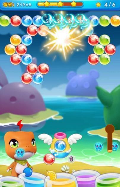 可以为你带来超多童年的记忆,泡泡龙全新回归,精致可爱的游戏风格带你