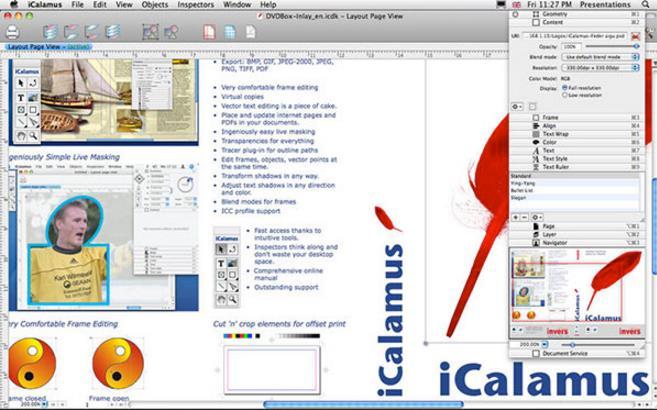 mac可是款专业的平面设计软件哦,其中无论是简单的明信片的图像版面设