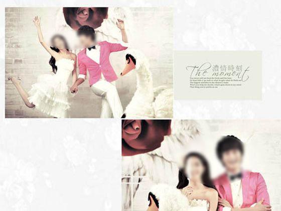 婚纱照相册模板 浓情时刻 06