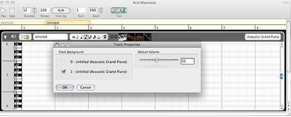 AriaMaestosa苹果手机版(MIDI音乐编辑器)v1邯郸苹果电脑图片