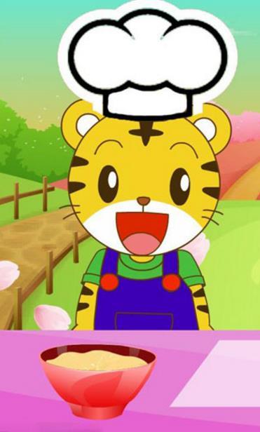 巧虎小厨师做圣诞甜点是一款卡通可爱的模拟游戏,一只巧虎厨师做甜点