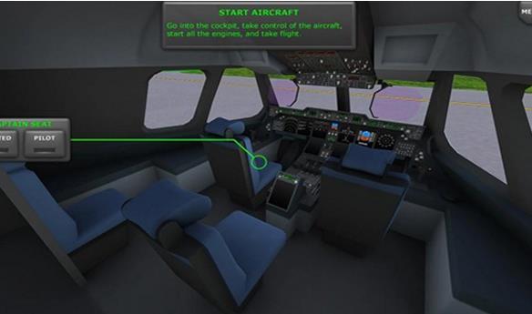 涡轮螺旋桨飞机模拟器安卓版(体验空中飞行的极致快感) v1.04 手机版