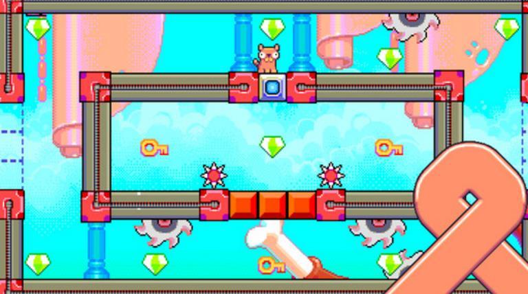 在这可款好玩的游戏的玩法类似于贪吃蛇,在蠢蠢的腊肠苹果版中玩家