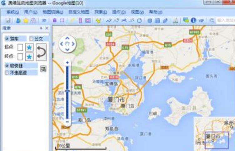 奥维互动地图怎么绘制路线