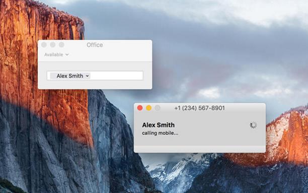 telephone 苹果电脑版界面图片