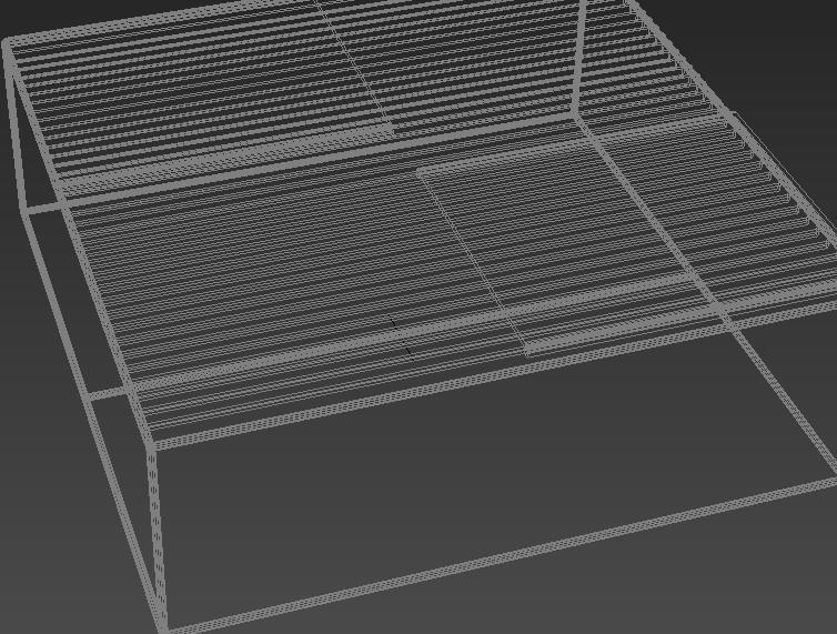 简约玻璃茶几3D免费模型贴图下载图片