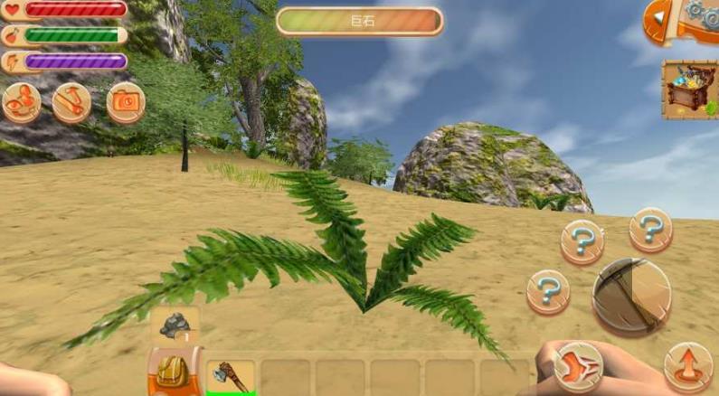 玩家将扮演一名在荒岛独立生存的人,在这里玩家不仅需要找到安全的