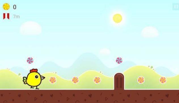 快乐小鸡跳跳跳游戏安卓版下载(欢乐的跑酷游形近字教学案例图片