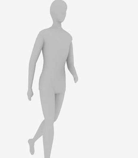 人物走路3Dmax模型