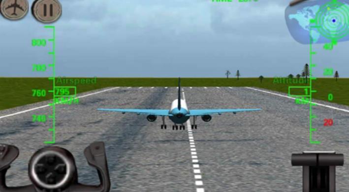 3d飞机飞行模拟器安卓版下载(驾驶飞机)