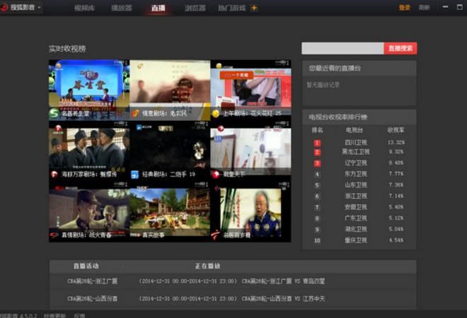 搜狐影音播放器官方版截图界面