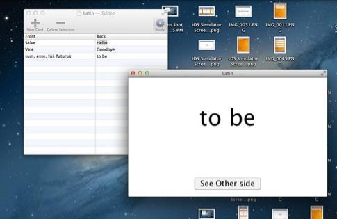 StudyCards苹果电脑版界面