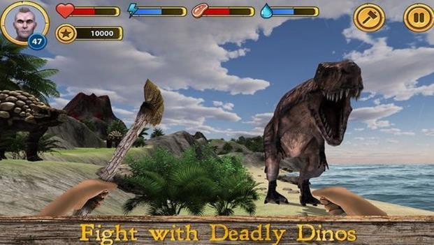 恐龙岛冒险安卓版有着许多恐龙物种,不同的恐龙类型让你感受侏罗纪时代的精彩旅程。你需要找到更多的公益生存工具来帮助自己在这个小岛上生存下去。恐龙岛冒险安卓版中有着很多不为人知的恐龙岛的秘密需要你来探索,来打败更多的恐龙努力生存下去吧~