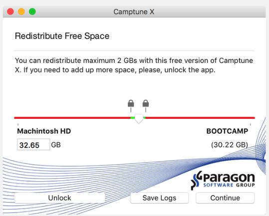 Paragon Camptune X Mac完美版特点