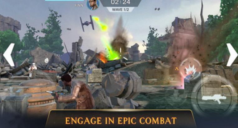 星球大战猎手正式版界面