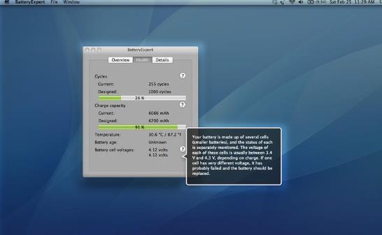 battery expert苹果电脑版界面图片