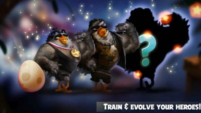 愤怒的小鸟演化手游截图