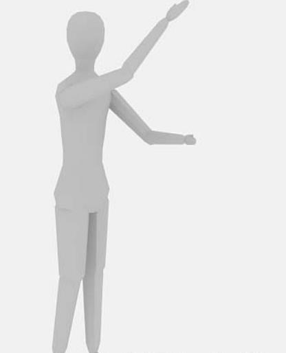 人物全身3dmax模型