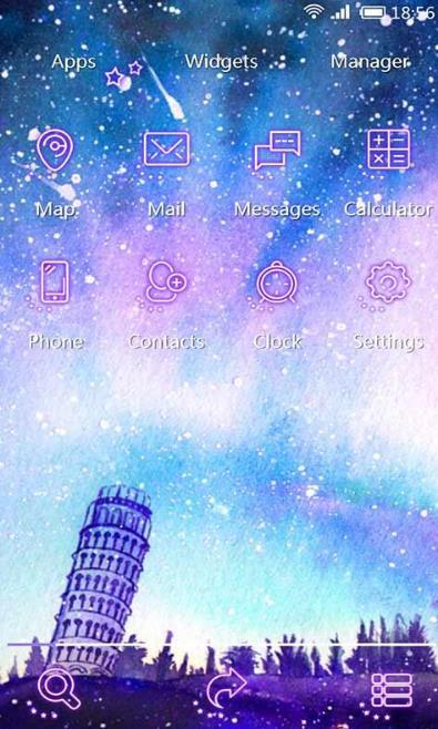 手绘星空手机正式版(好看的壁纸) v1.0 安卓版
