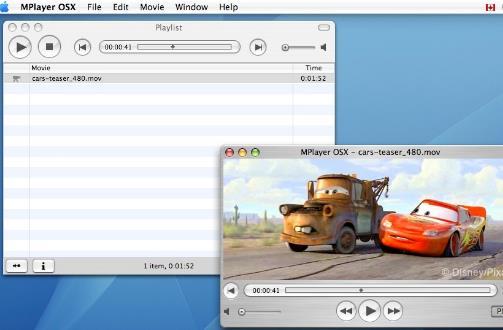 mplayer osx苹果电脑版界面图片