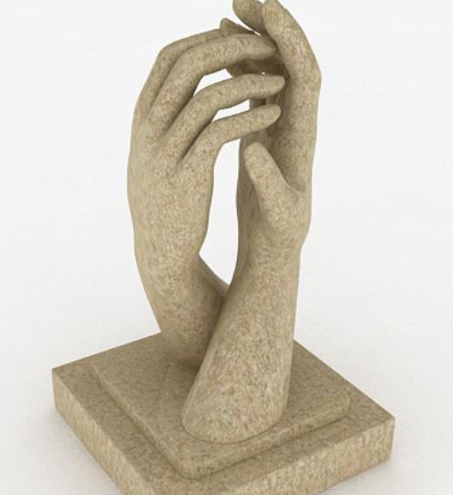艺术雕塑品3Dmax模型介绍