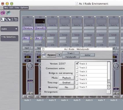 Celemony Melodyne Studio Edition Mac版界面