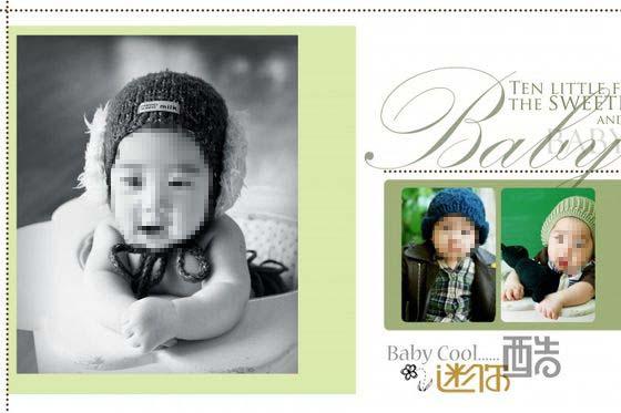 儿童相册模板 迷你酷 04