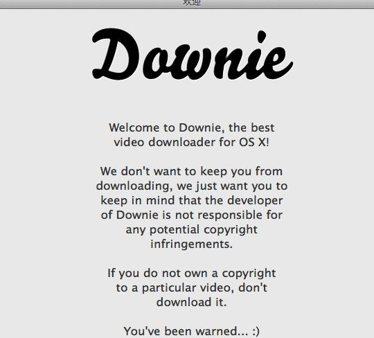 Downie for Mac
