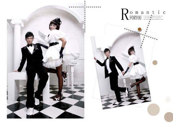 婚纱摄影模板 给你的浪漫礼物 04