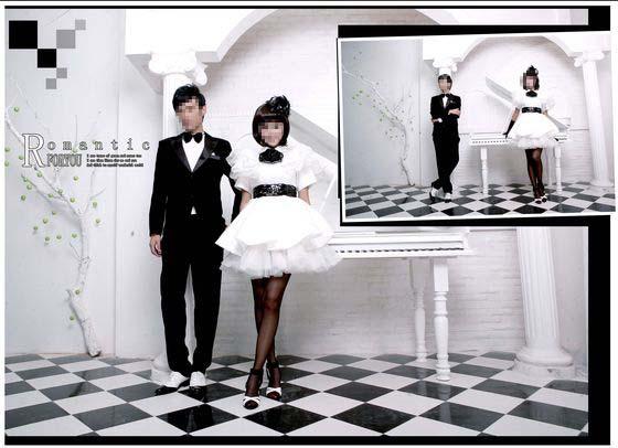 婚纱摄影模板 给你的浪漫礼物 05