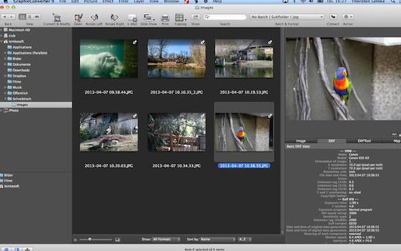 GraphicConverter苹果电脑版界面