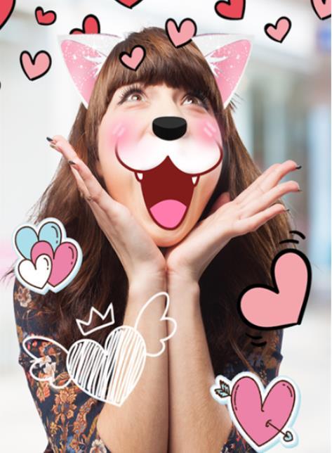 激萌猫脸相机手机版特色