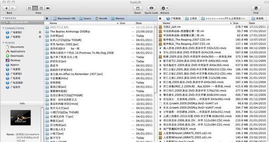 ForkLift for Mac界面