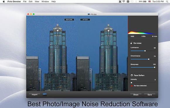 iFoto Denoise Mac版界面