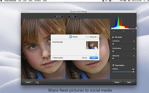 iFoto Denoise Mac版