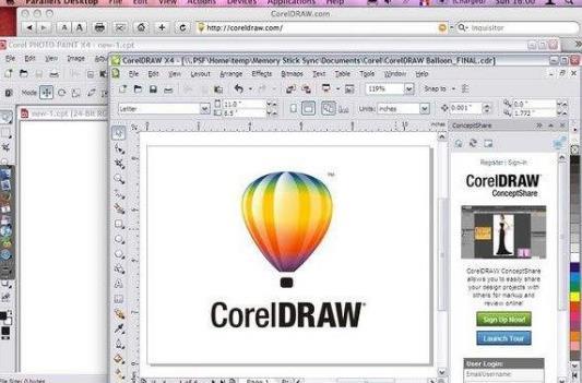 Coreldraw 13 MAC版
