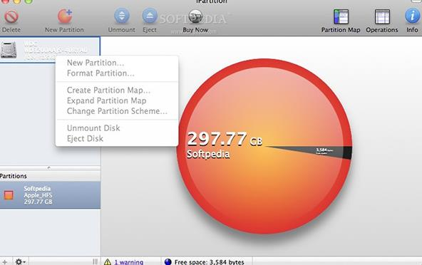 iPartition for Mac特色