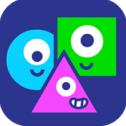 三角方塊圓iOS最新版(利用它們各自的特點) v2.0 手機版
