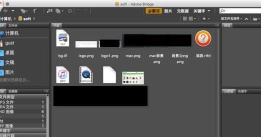 adobe bridge mac版界面圖片