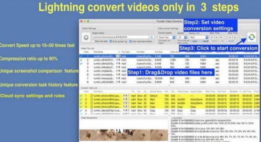 雷霆视频转换器 mac版界面