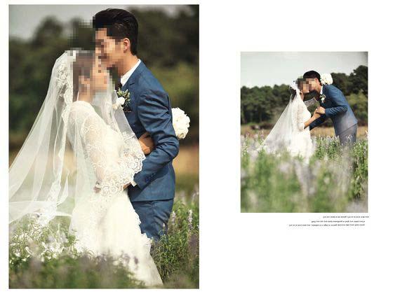 婚纱摄影模板 爱的瞬间 04